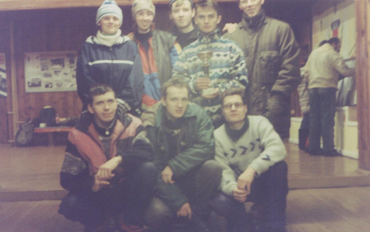 Сборная команда Свердловской области по туристическому многоборью