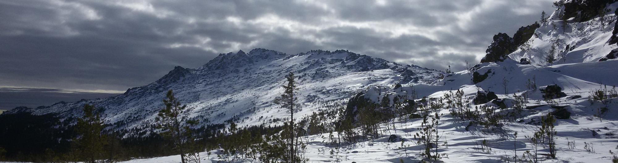 Сухогорский камень вид с перевала Дидковского