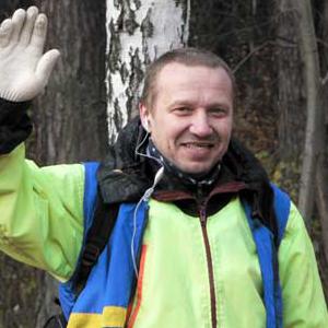 Вершинин Андрей Юрьевич — дважды Мастер Спорта России по спортивному туризму