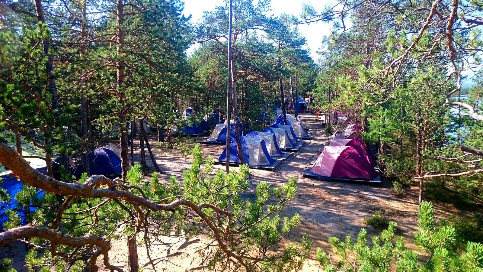 Кемпинговый лагерь «Байкальский парус»