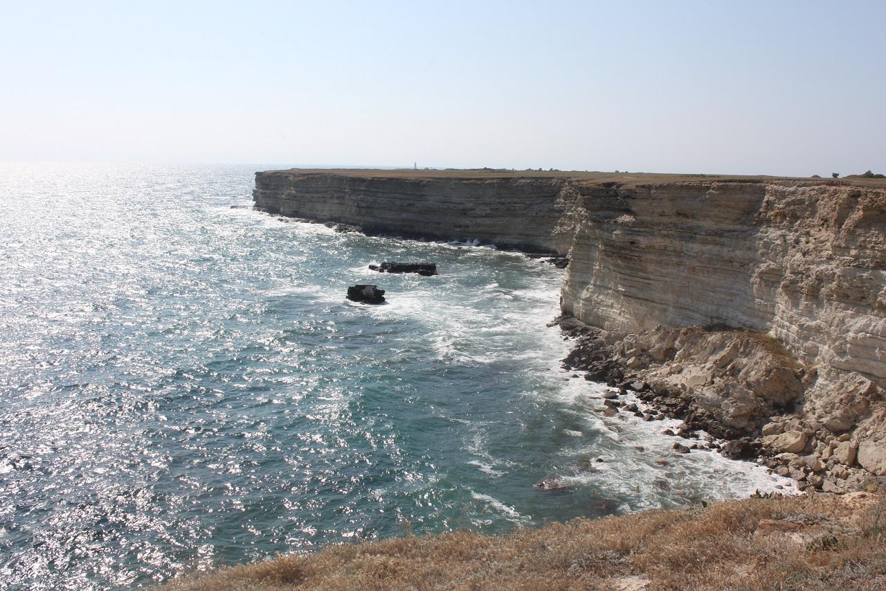 Инопланетные пейзажи побережья Тарханкута