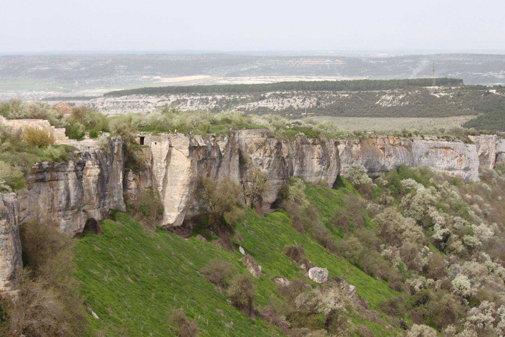 Южный склон долины Биюк-Ашлама-Дере
